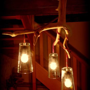 The Climbing rope lamp
