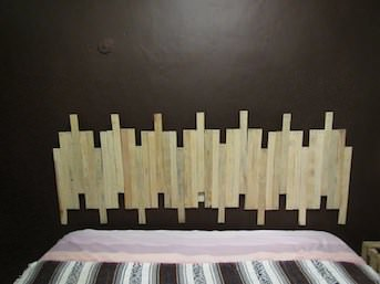 DIY: Bed Headboard Do-It-Yourself Ideas Wood & Organic