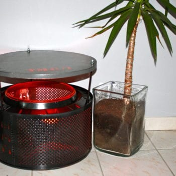 Washing Machine Table With Inside Light