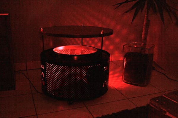 Washing machine table with light inside in lights furniture  with washing machine Table Light Drum