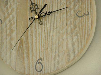 Hand made clocks