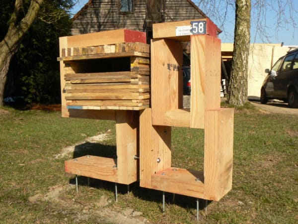 Wooden Mailbox Do-It-Yourself Ideas Wood & Organic