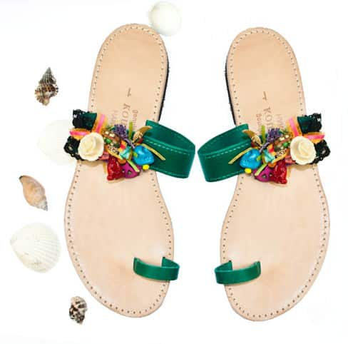 Handmade Leather Sandals Accessories