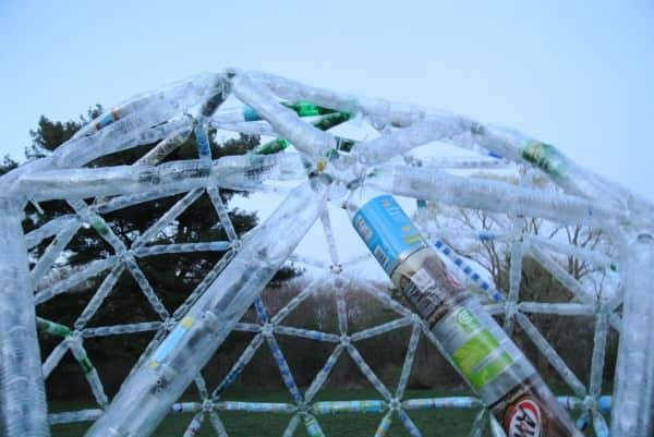 Water Bottle Geodesic Dome Recycled Art Recycled Plastic