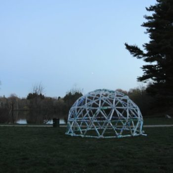 Water Bottle Geodesic Dome