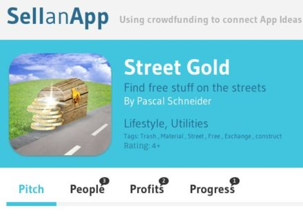 Street Gold App Idea : For the Recyclers !