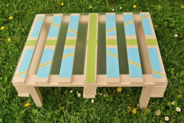 Coffee Table Made with Pallet Recycled Furniture Recycled Pallets