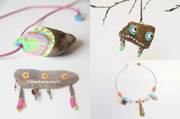 Driftwood Accessories by Jennifer Vosteen in jewelry  with sea Jewelry Holiday driftwood Beach Accessories