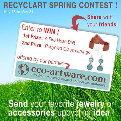 Recyclart Spring Contest ! Accessories Upcycled Jewelry Ideas