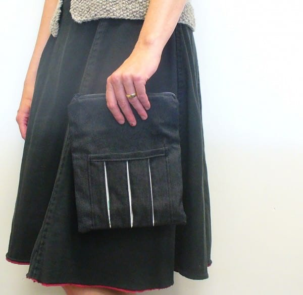 Puffy side pocket clutch Accessories Clothing Do-It-Yourself Ideas