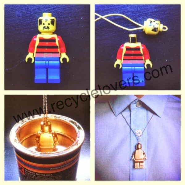 Lego Jewel Accessories Upcycled Jewelry Ideas
