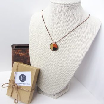 Penny necklaces with vintage images