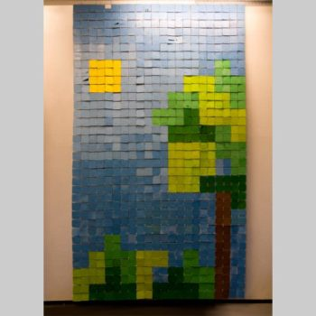 Play the world - Floppy disks art