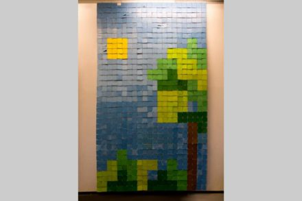Play the world – Floppy disks art