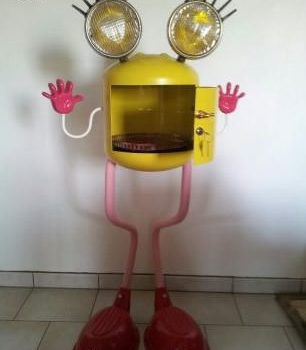 Monsieur B: Made From Trash Objects