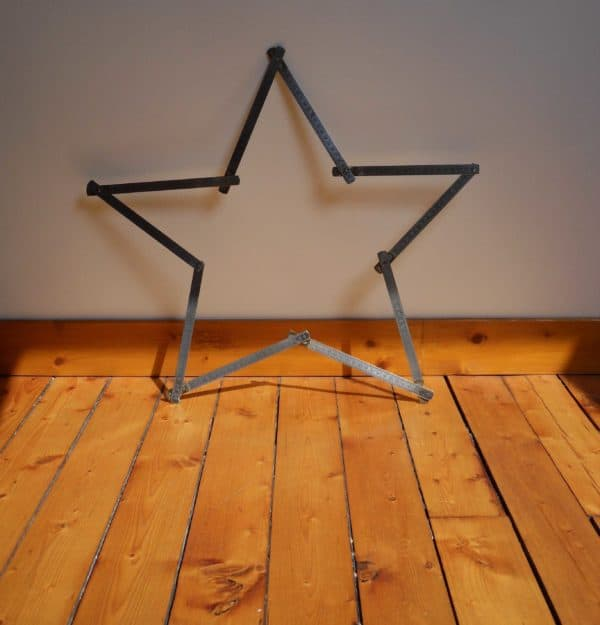 A Recycled Star Recycled Art Recycling Metal