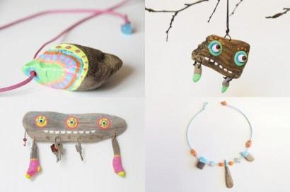 Driftwood Accessories by Jennifer Vosteen