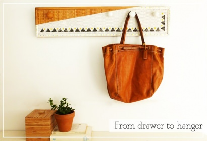 From drawer to hanger
