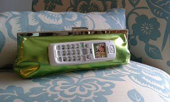 Groovy Green Clutch