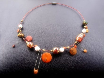 Jewelry and accessories made from electronics waste