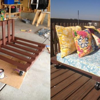 DIY: Outdoor Pallet Patio Set
