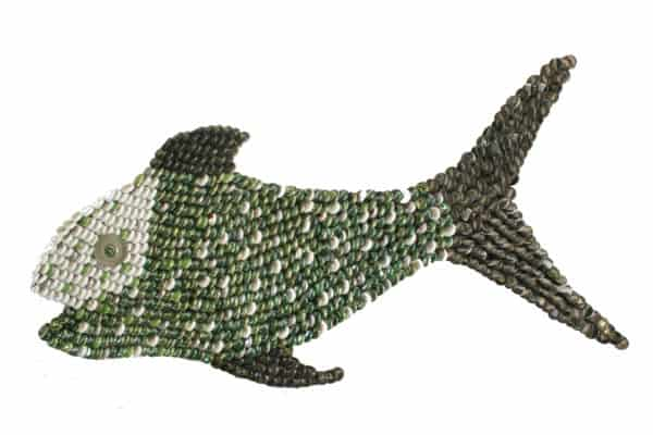 Black Fin Recycled Art Recycling Metal