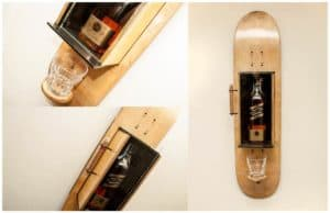 Recycled & Handcrafted Skateboards wood