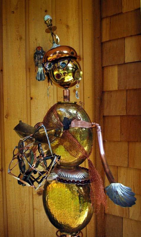 Giselle Dubeau Recycled Art