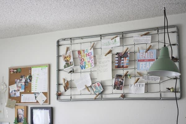 Baby Bed Spring Note Board Recycled Furniture