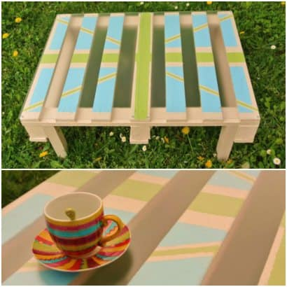 Coffee Table made with Pallet