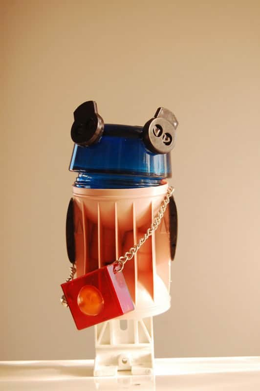 Re-beings Robots Recycled Art