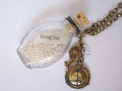 """Castaways"": Vintage Glass Necklaces"