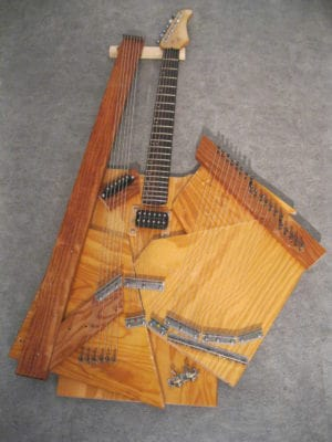 Recycled Sitar guitar