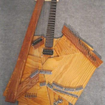 Recycled Sitar guitar