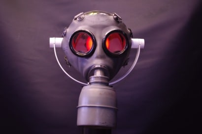 GAZ-GAZ: Gas mask lamp