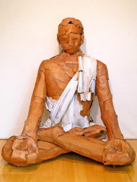 Sculptures in Corrugated Cardboard