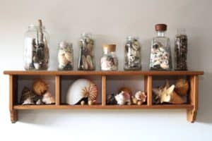 Recycled Glass Jars Turned into Decoration