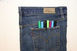 Jean Pocket Organizer