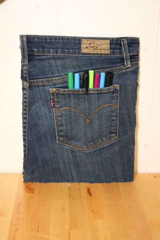 Jean Pocket Organizer Clothing Do-It-Yourself Ideas