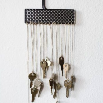 Recycled Key Wind Chime