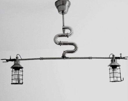 "Suspension lamp ""The Snake"""