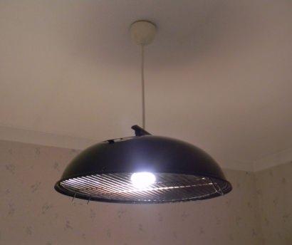UFO Grill Lamp
