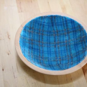 Fabric Jewelry Bowl