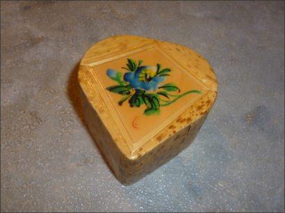 Decoupaged thrift store jewelry box