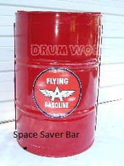 55 gallon steel drum Bar