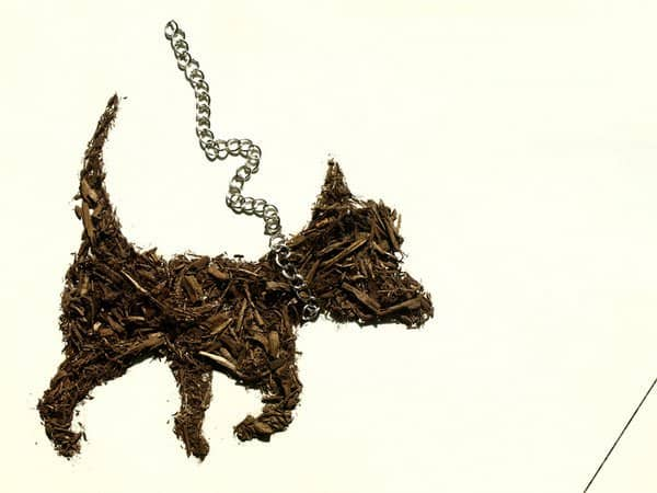Dirty Little Secrets in art  with Recycled Art