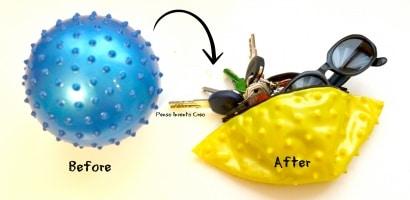 Rubber ball Purse