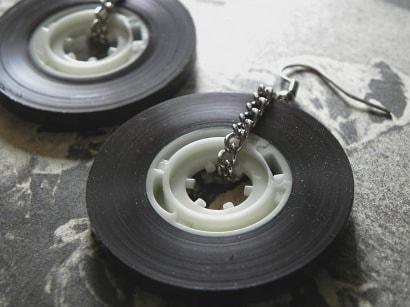 Old School Cassette Tape Earrings!