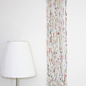 Book Bead Curtain