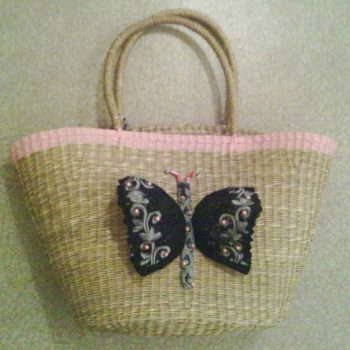 Bag Customized With A Recycled Bra